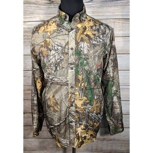 Under Armour Realtree Camo Heat Gear Hunting Shirt